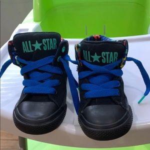 Converse blue/black